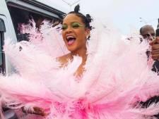Rihanna draagt Nederlands design tijdens carnaval: 'Je kunt moeilijk nee verkopen'