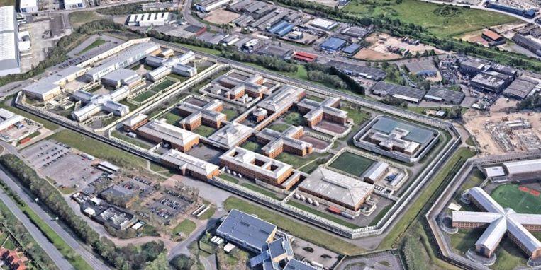 De gevangenis Belmarsh in het zuidoosten van Londen. Beeld Google