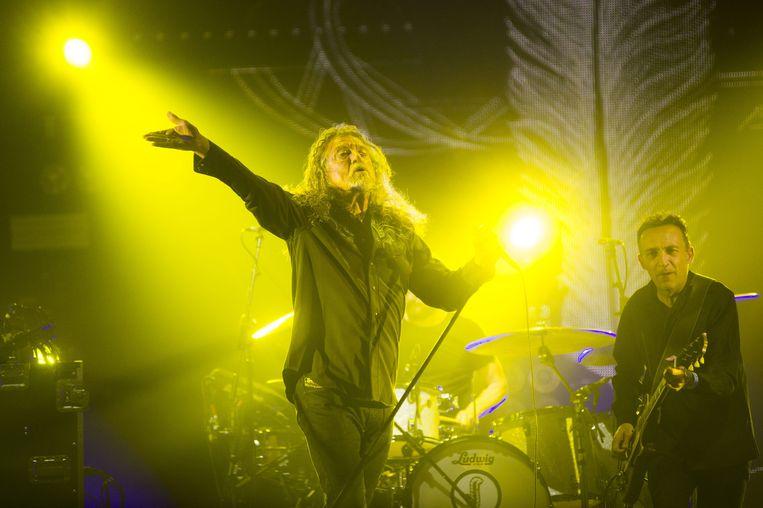 Robert Plant. Beeld Alex Vanhee