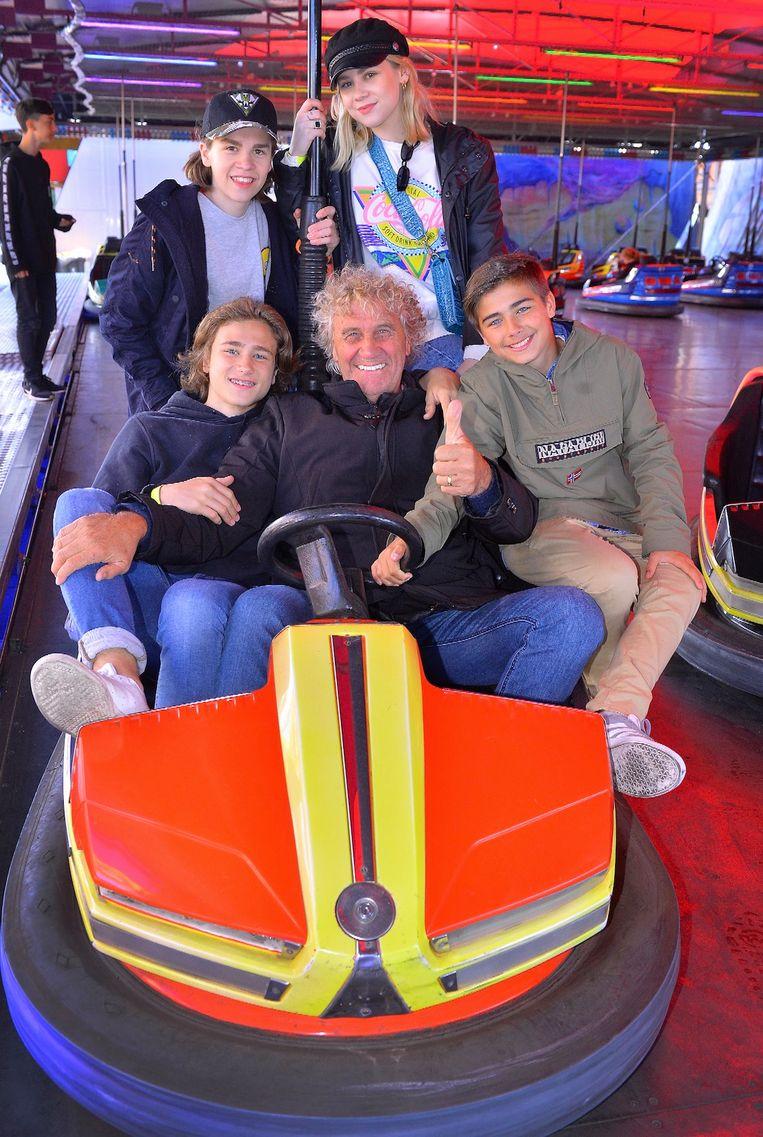 Jean-Marie Pfaff en kleinkinderen