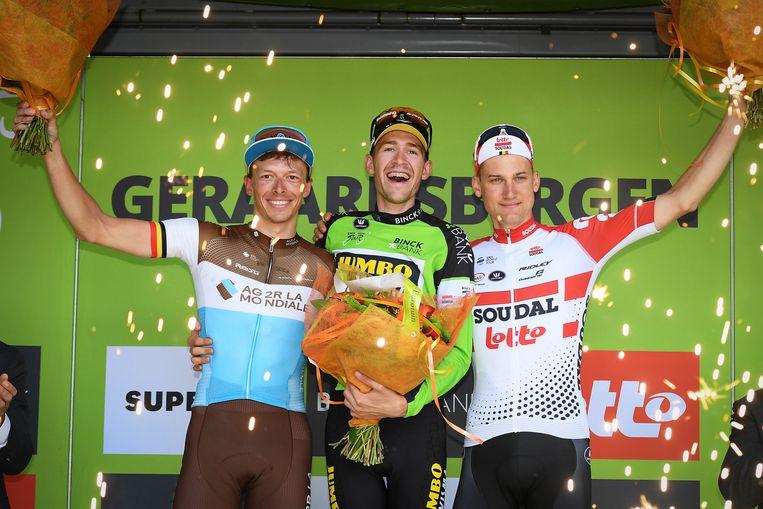 Vorig jaar ging de eindzege naar Laurens De Plus. Hij haalde het toen met 35 seconden op Oliver Naesen en 36 seconden op Tim Wellens.