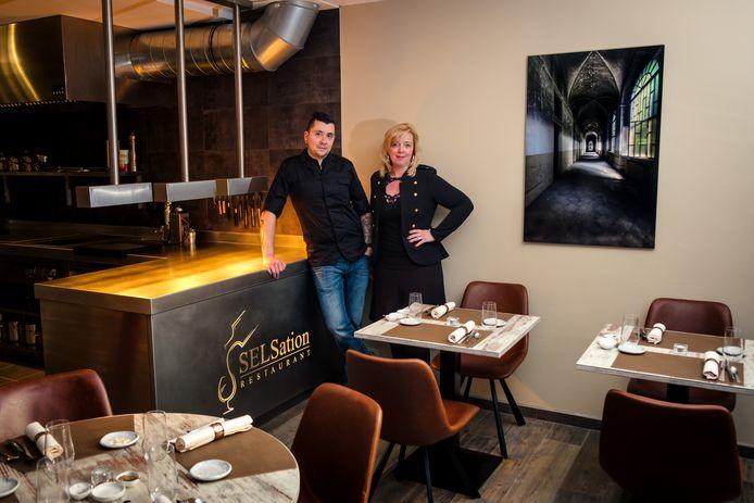 Wouter Sels van restaurant SELSation, samen met zijn echtgenote Sandra, heeft jammer genoeg geen plaats voor een terras.