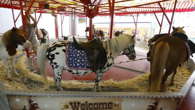 Brussel neemt voorgoed afscheid van paarden, pony's én ezels op kermissen