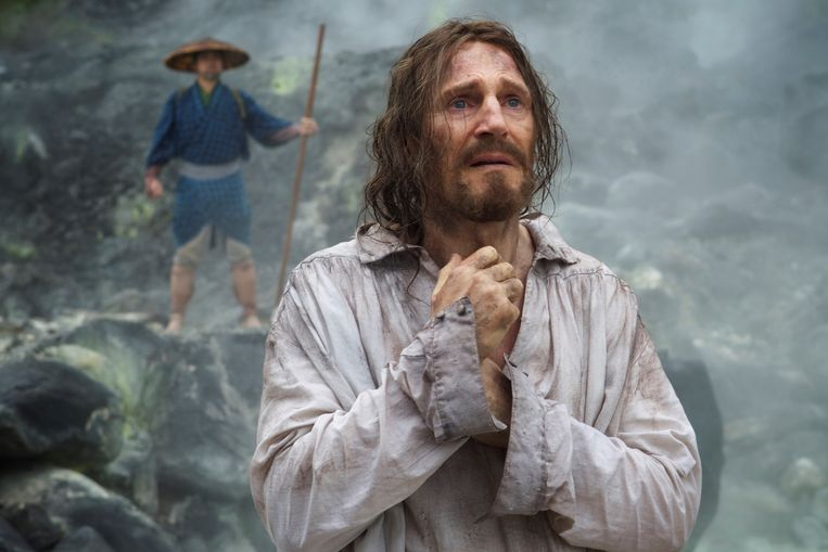 Liam Neeson speelt de hoofdrol in 'Silence' van Martin Scorsese. Beeld rv