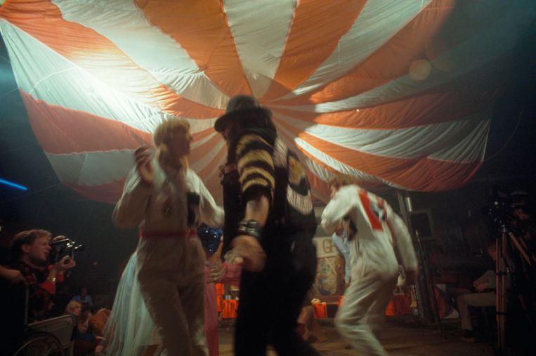 Een lsd-feestje in de jaren zestig in San Francisco.  Beeld Corbis via Getty Images