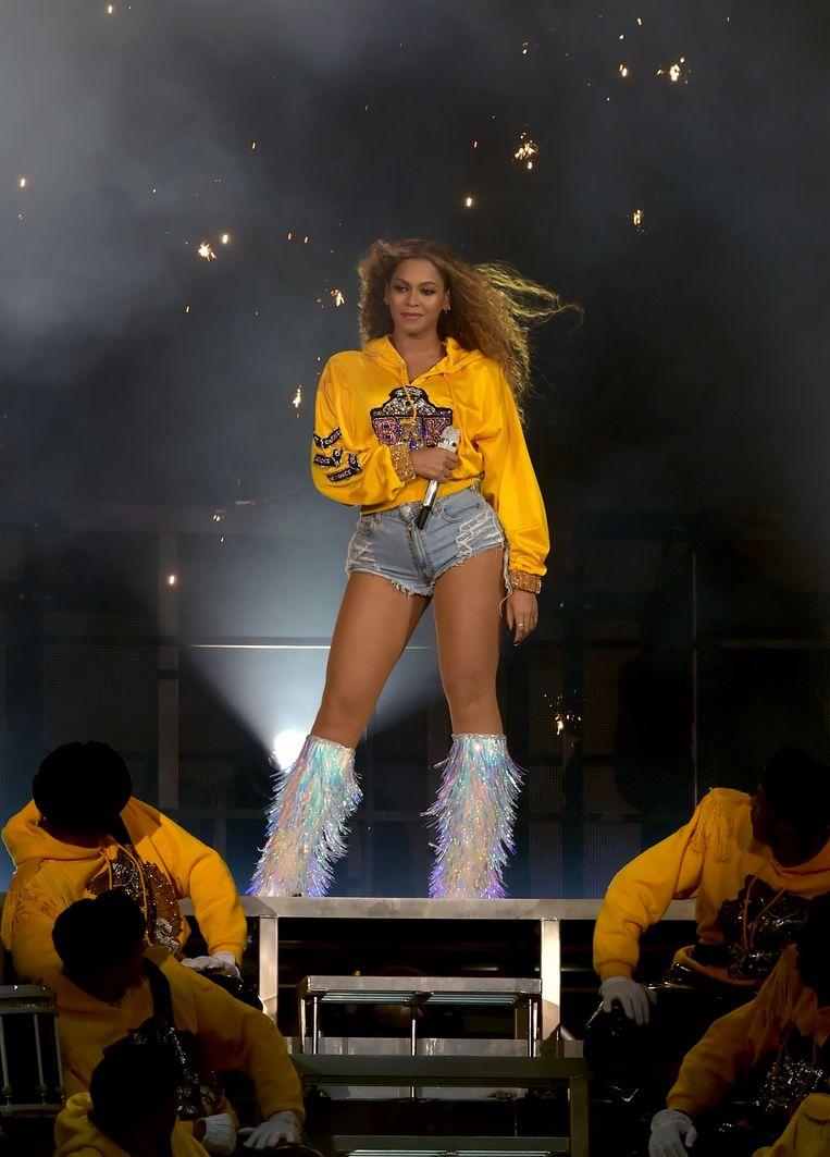 Beyonce in 2018. Beeld Getty