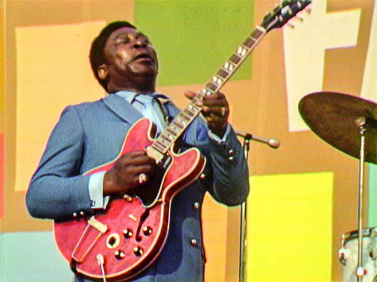 B.B. King in 'Summer of Soul' Beeld Searchlight Picture