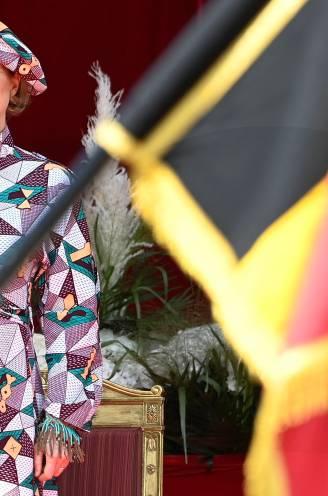 """Siré Kaba ontwierp jurk die Delphine Boël droeg op militair defilé: """"Met mijn creatie gaf ze een sterke boodschap aan vrouwen en minderheden"""""""