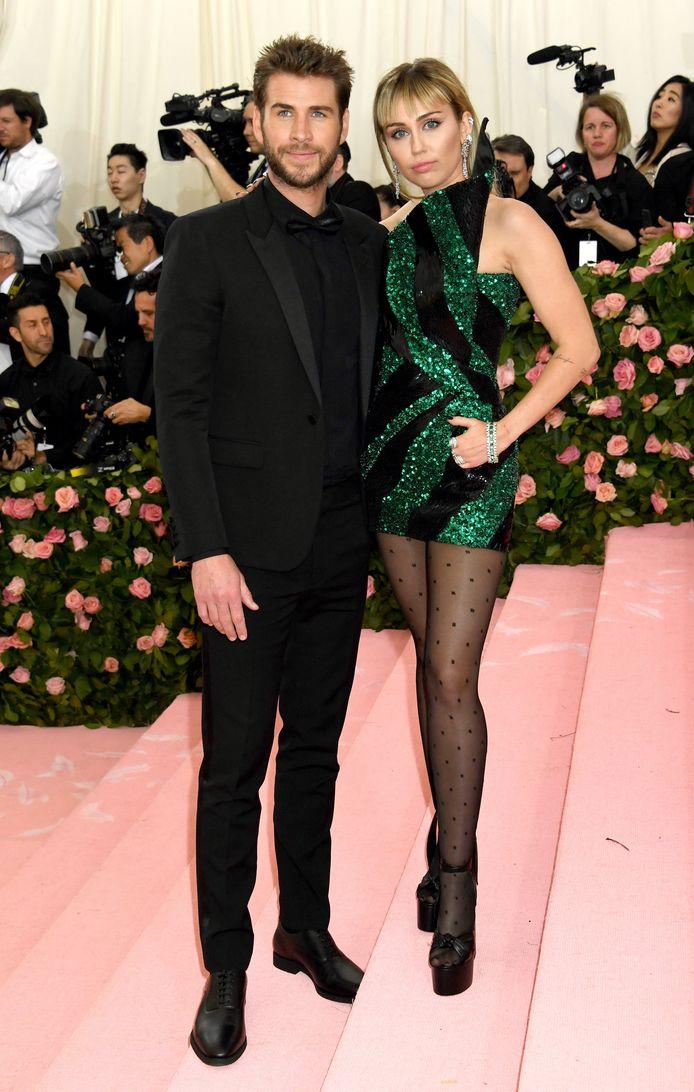 Miley Cyrus et son ex-mari Liam Hemsworth