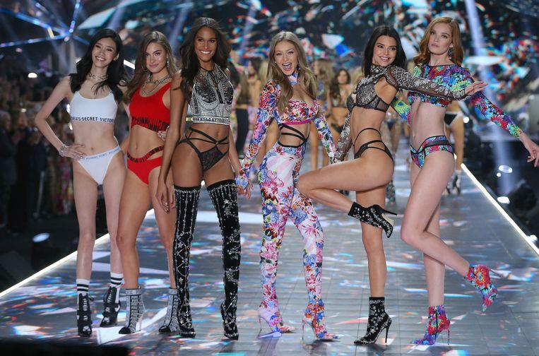 De 'Angels' van Victoria's Secret stammen uit een ander tijdperk. Beeld Photo News
