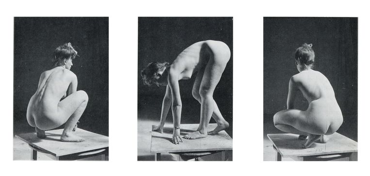 Truus Trompert was een natuurtalent in poseren. Beeld