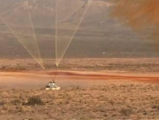 Test met ruimtecapsule van Boeing dan toch niet helemaal geslaagd