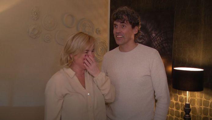 Willeke en Michael weten niet wat ze zien als ze binnen komen.