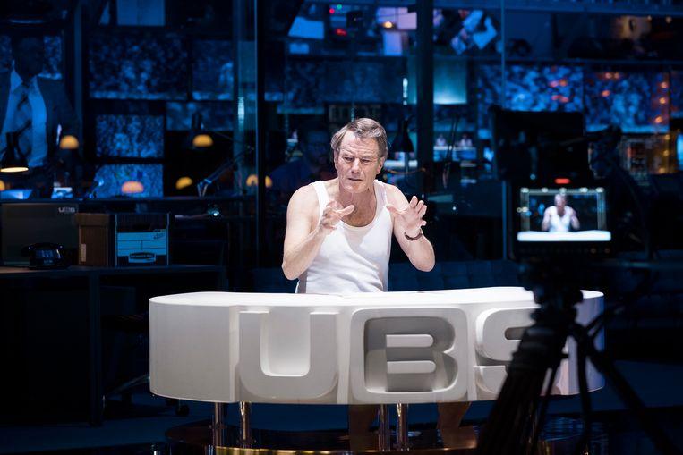 Bryan Cranston als de gedoemde ankerman Beale. 'De ideale evangelist van de onvrede.'  Beeld Jan Versweyveld