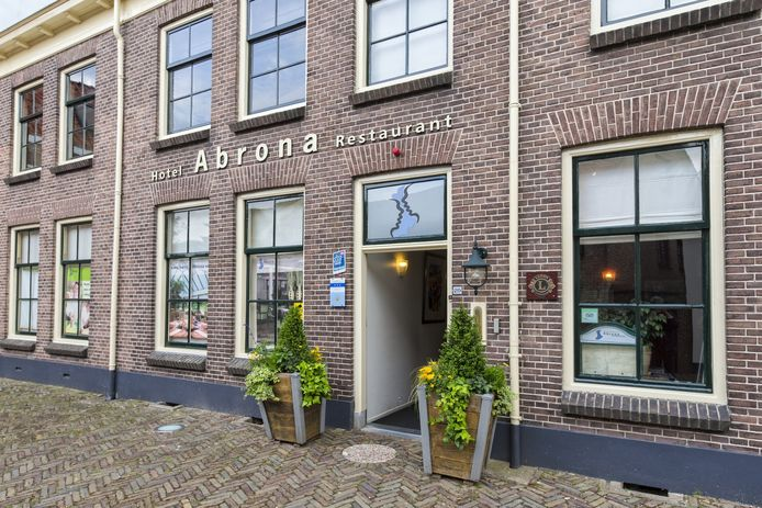 Hotel-restaurant Abrona in Oudewater.