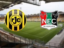 LIVE | Meijer verrast met opstelling NEC voor uitduel bij Roda JC