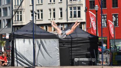 Circusfestival Hopla eindigt in het centrum van Brussel