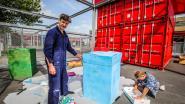 Kunstwerken voor festival Konvooi krijgen vorm