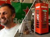 Meubelmaker Emiel bouwde telefooncel om tot mini-bar