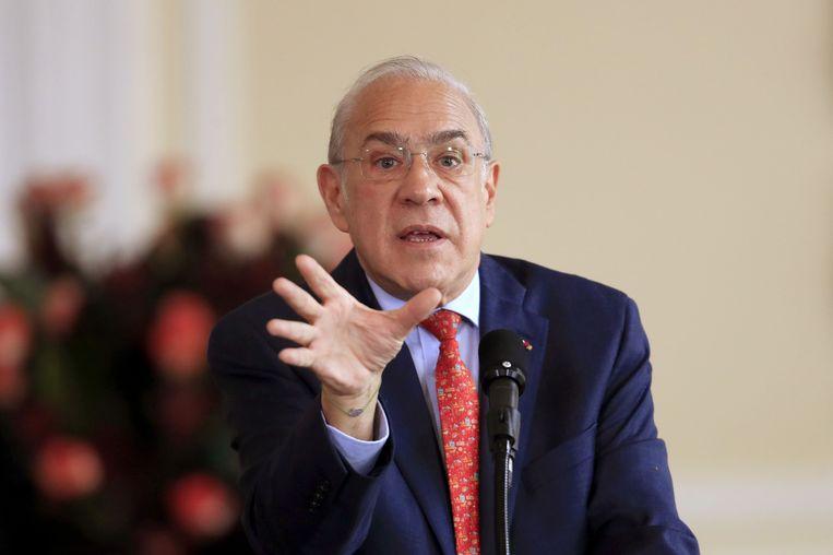 Angel Gurria, de secretaris-generaal van de OESO.