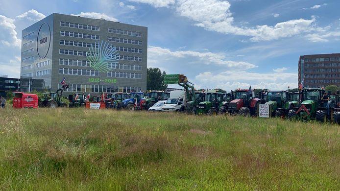 Boeren bij de Wageningen Universiteit.