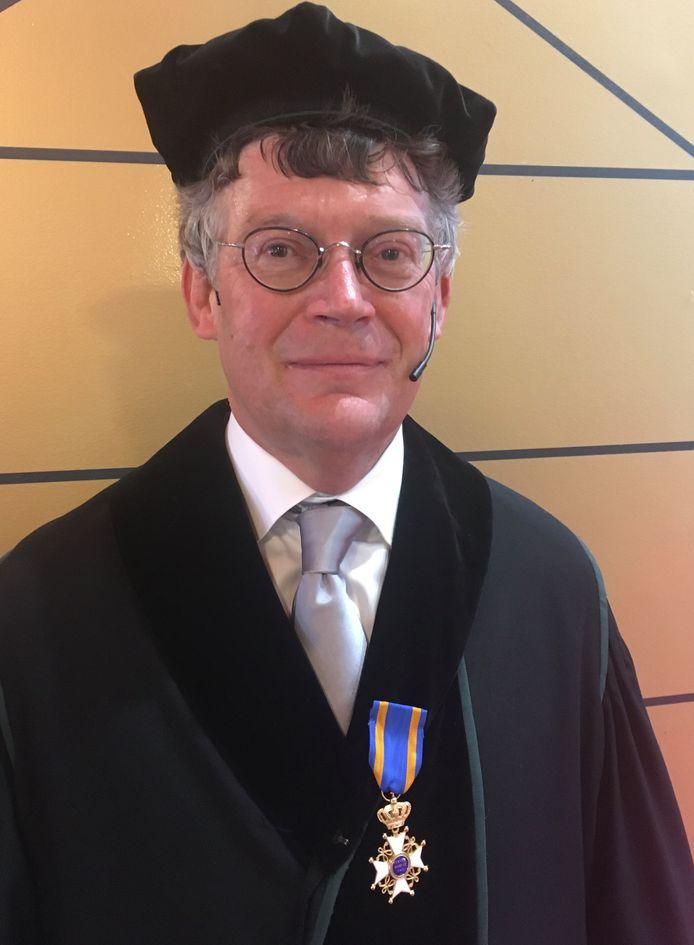 Nuenenaar Ton Koonen kreeg een onderscheiding als Ridders in de Orde van de Nederlandse Leeuw.