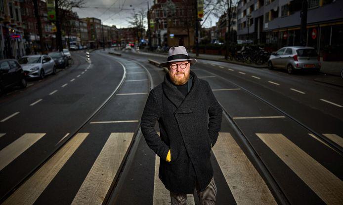 """Leon Keekstra: ,,Een van mijn doelen als stadsbemoeial is om de eerste, onafhankelijk gekozen burgemeester van Rotterdam te worden."""""""