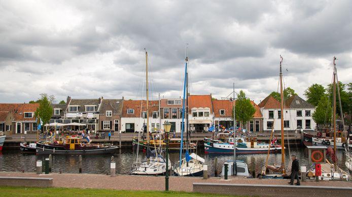 De haven van Elburg.