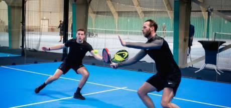 ASWH - Kozakken Boys op de padelbaan: 'Een leuke manier om fit te blijven'