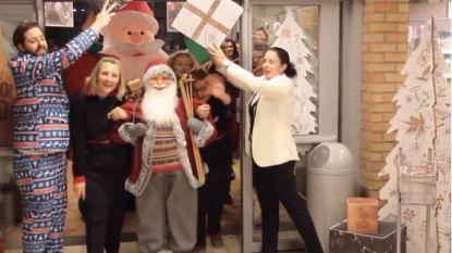 Kerstfilmpje van Delhaize-personeel is internethit