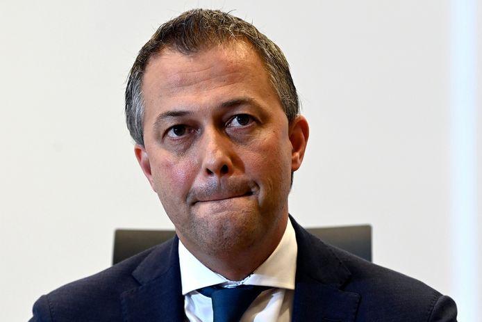 Le président de l'Open Vld Egbert Lachaert.