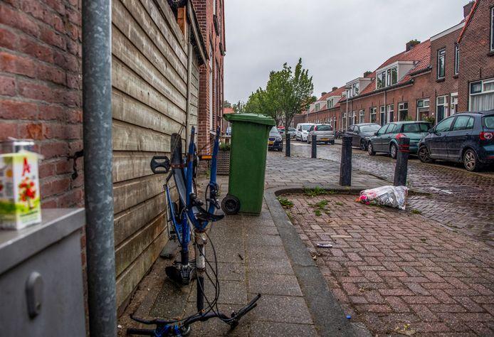 Deze zomer was er veel overlast van jongeren aan de F.W. Reitzstraat in Gouda.