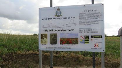 Herdenking vliegtuigcrash Kersbeek