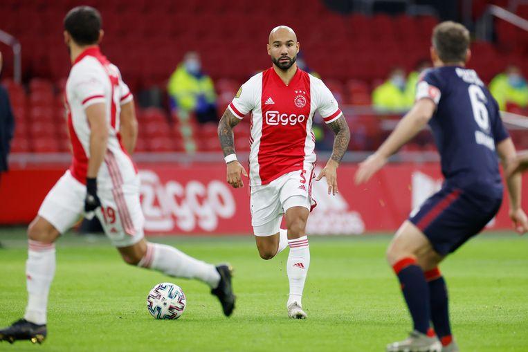 Ajax player Sean Klaiber Beeld Stanley Gontha