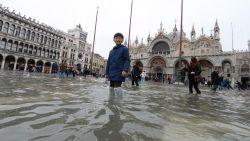 Zeker 1 miljard euro schade door overstromingen in Venetië, morgen opnieuw hoogste alarmfase