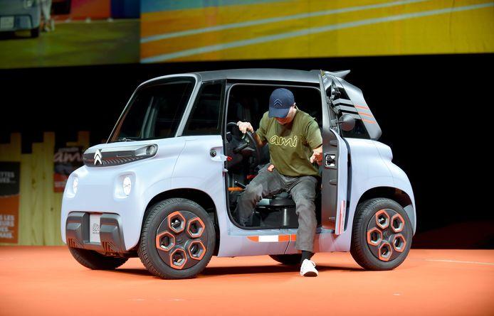 PSA gelooft in piepkleine, elektrische stadsauto's zoals deze Citroën Ami