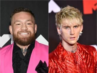 Ruzie tussen Conor McGregor en Machine Gun Kelly  tijdens de MTV Video Music Awards gaat viraal