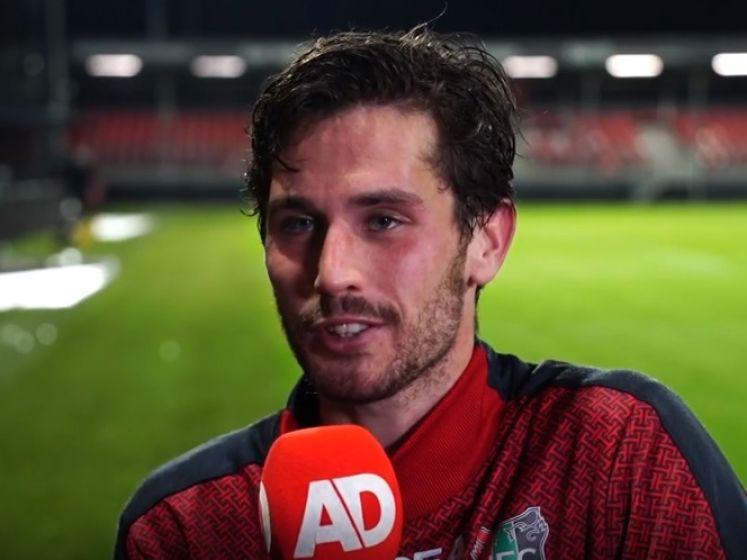 NEC'er Jordy Bruijn: 'Almere heeft pak slaag gekregen'