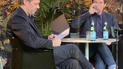 Sergio Herman bij King George voor opnames 'Mijn Keuken, Mijn Restaurant'