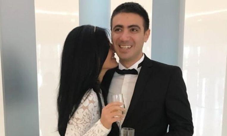 Hedieh Yazdanseta en haar man trouwden in 2017, gealarmeerd door de verkiezingsbeloften van Donald Trump.