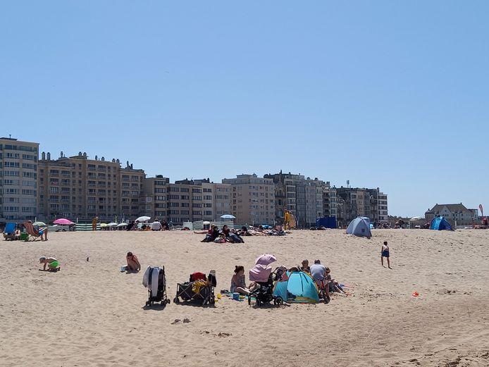 Het bleef relatief kalm zaterdag in Oostende.