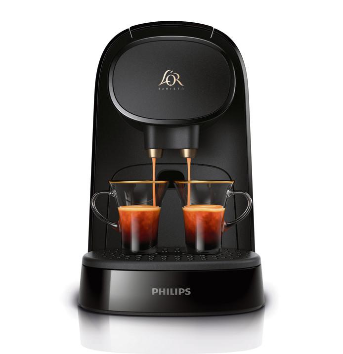 L'OR lance le système L'OR Barista, la première machine capable de réaliser un double espresso ou deux espressos simultanément, pour deux fois plus de plaisir. Prix: à partir de 99,99 euros. La version Latte, quant à elle, à partir de 159,99 euros.