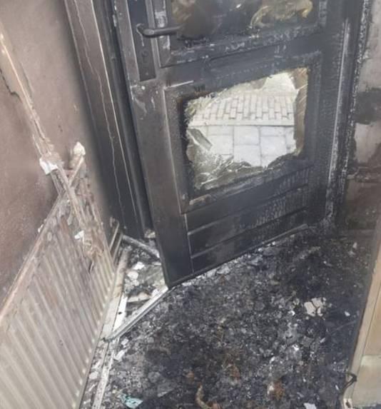 De gevolgen van de brandstichting aan de Uiverplaats in Nijmegen