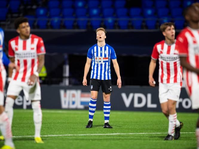 Kleedkamerdeur lang dicht na zoveelste teleurstelling FC Eindhoven: 'Geen verwijten, wel irritatie'