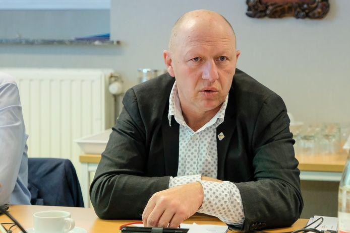Burgemeester Hans Bonte