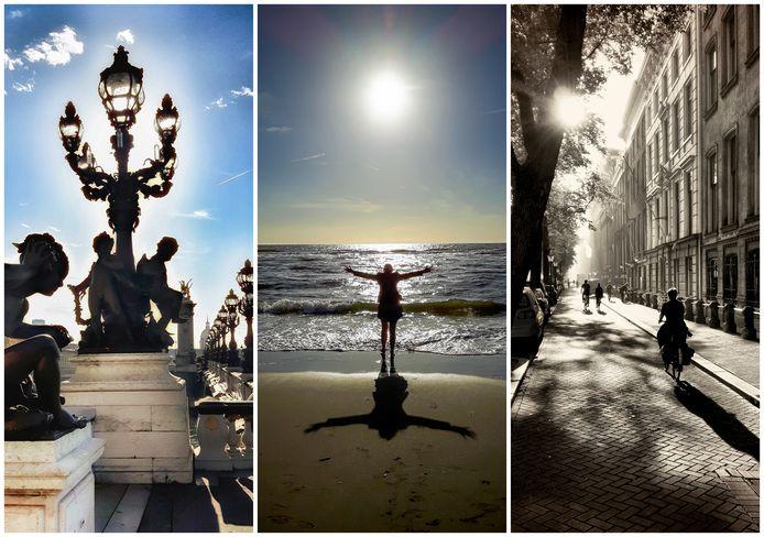 Drie foto's van Tom Meerman met bijzonder gebruik van licht.