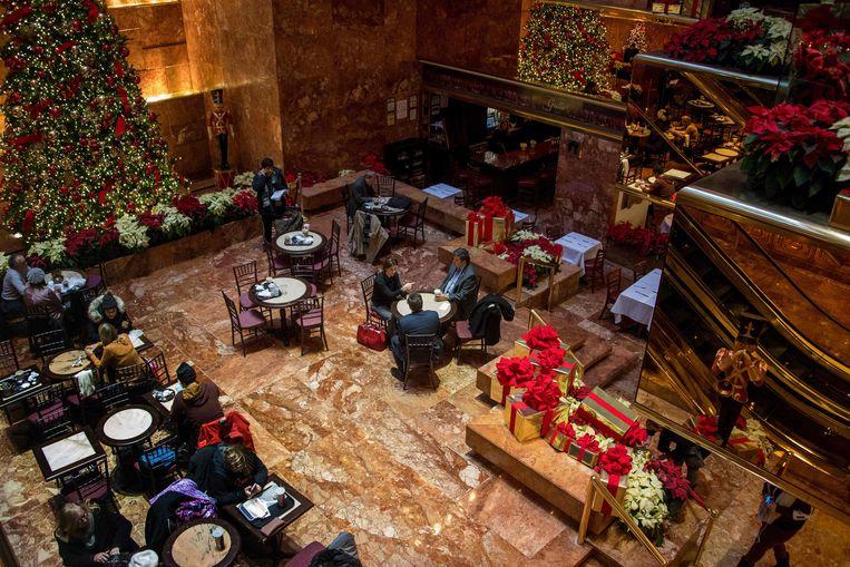 De Trump Tower Grille in New York. Beeld AFP