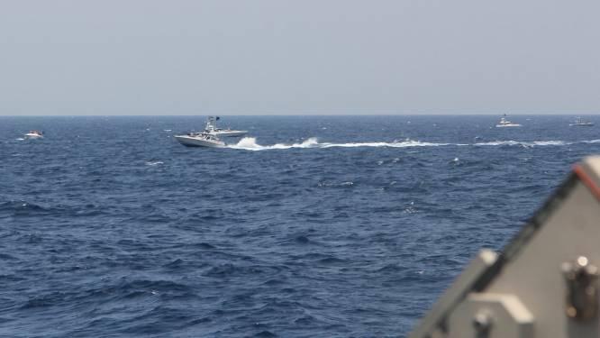 "Iran hekelt ""onprofessioneel"" gedrag Amerikaanse marine in Straat van Hormuz"