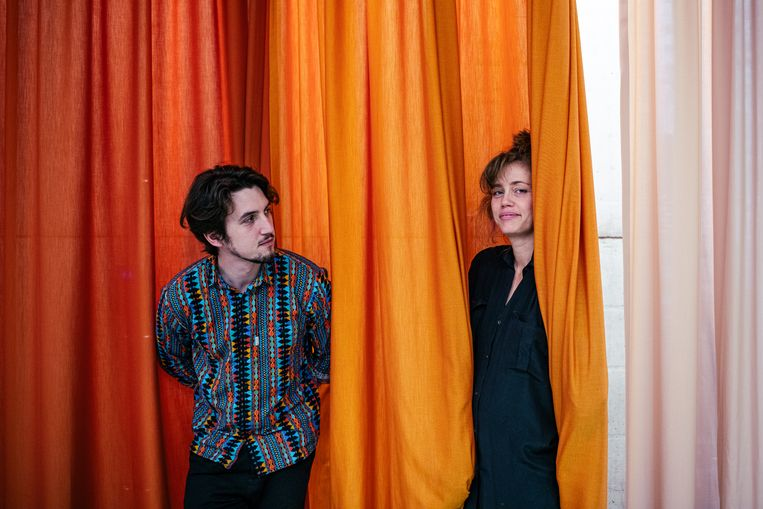 Yassin en Naima Joris.  Beeld Tine Schoemaker