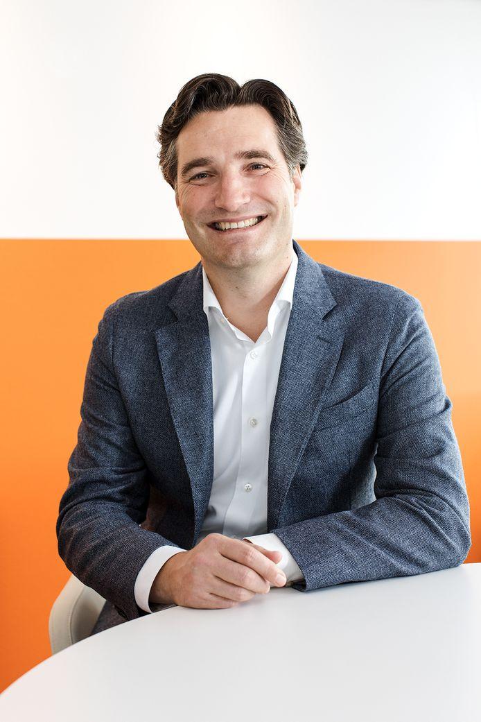 Timon Kos, lid van het college van bestuur van Saxion Hogescholen.